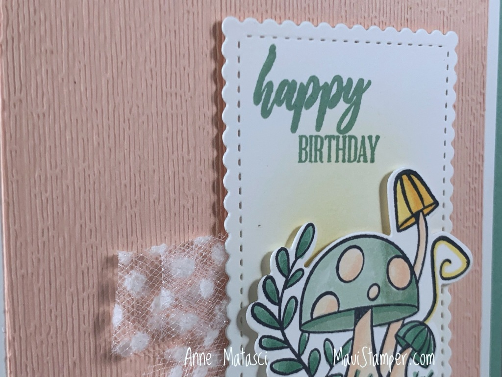 Maui Stamper Stampin Up Snailed It Magical Mushrooms birthday card