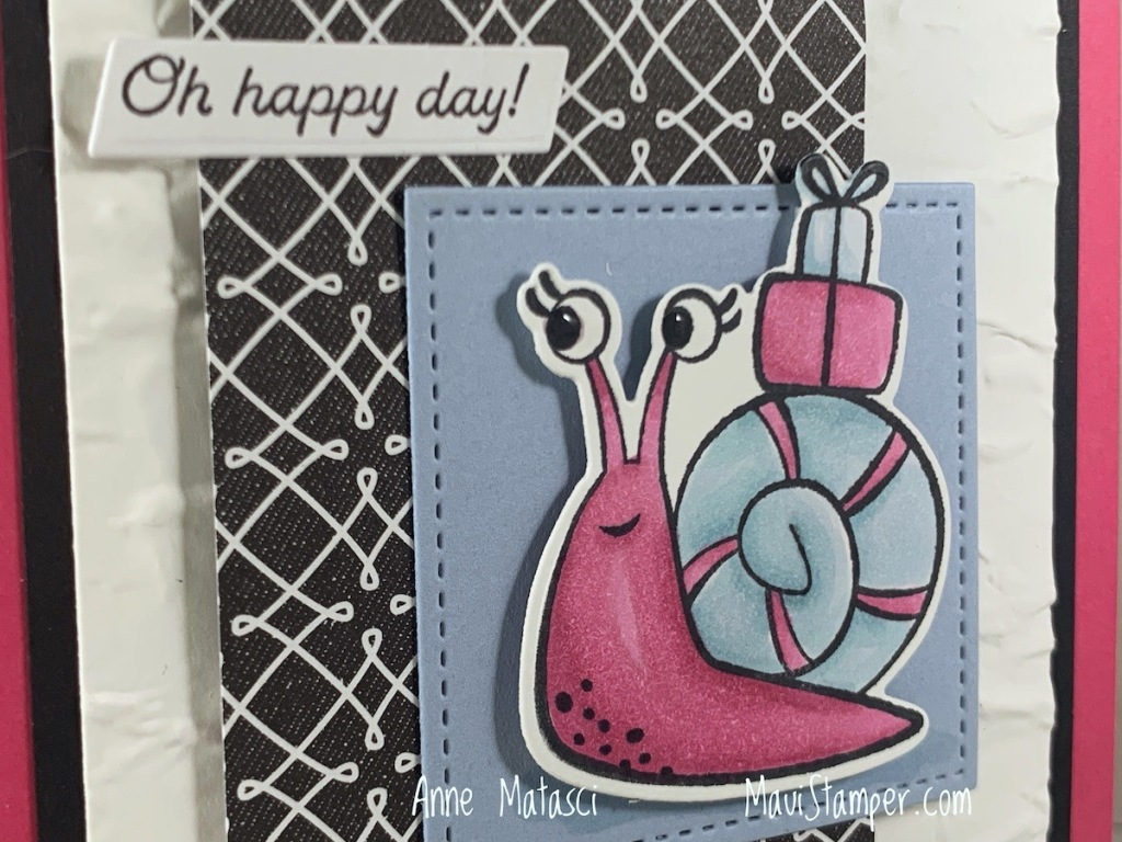 Maui Stamper Stampin Up True Love with Snailed It
