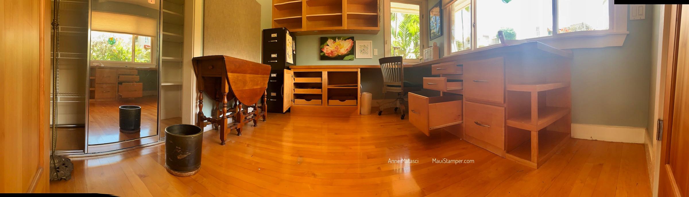 Maui Stamper Stampin Up Empty Craft Room