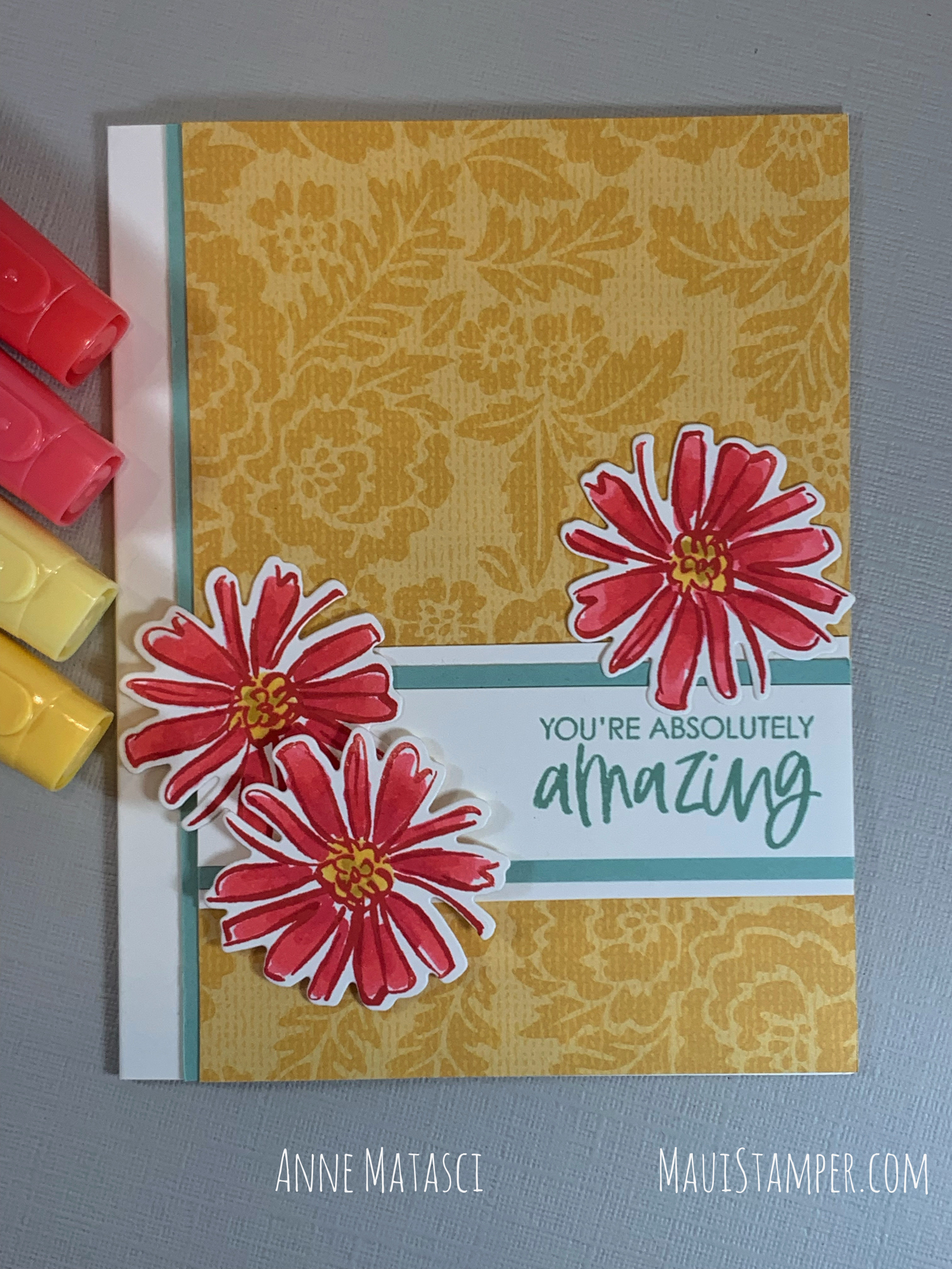 Maui Stamper Stampin Up Pattern Party Color and Contour