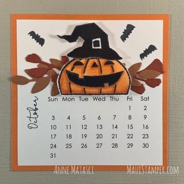 Maui Stamper Stampin Up October 2021 DIY Easel Calendar Clever Cats